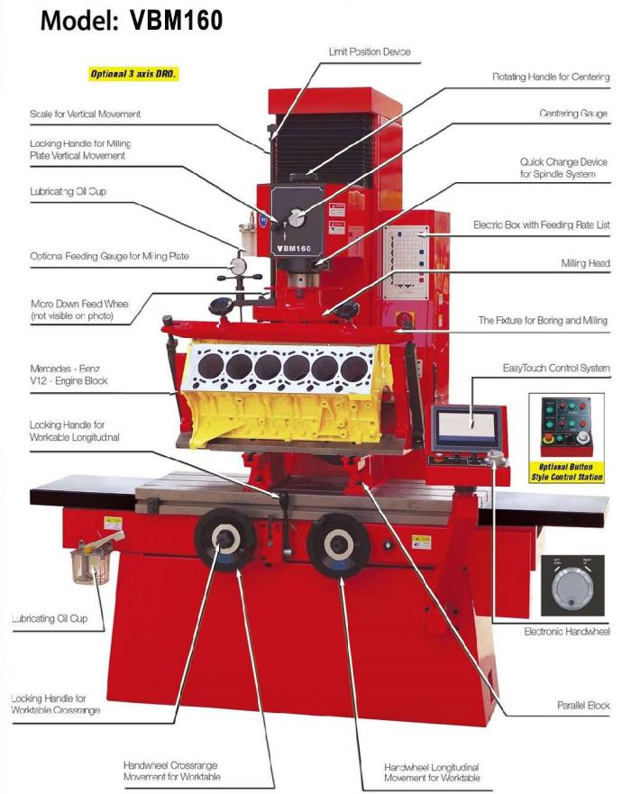 Berco Type 3 AXIS DRO Engine Rebuilding